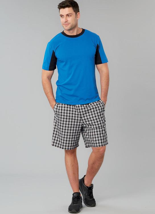 Kwik Sew k4258- shorts t-shirt  - herr