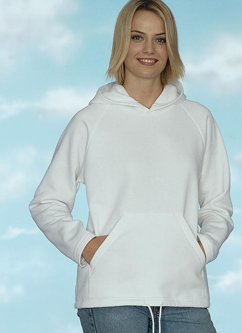 Kwik Sew k3045 - tröja - Dam Herr