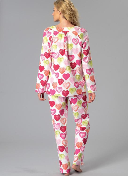 Kwik Sew k4089 Dam Nattlinne, Pyjamas