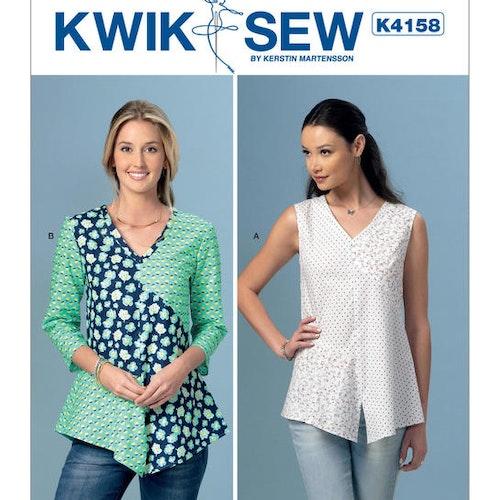 Kwik Sew k4158 Dam Blus