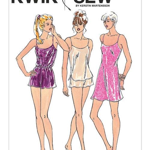 Kwik Sew k2589 Dam Linne Shorts