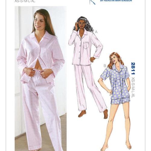 Kwik Sew k2811 Dam Pyjamas