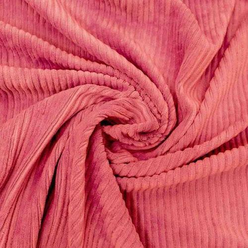 Bredspårig manchestervelour - Rose
