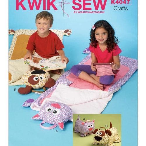 Kwik Sew k4047 Pyssel & Presenter sovpåsar