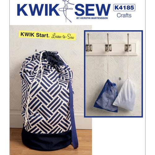 Kwik Sew k4185 Inredning Dekoration Tvättsäck