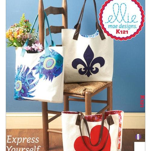 Kwik Sew k121 Accessoarer Väska med applikationer