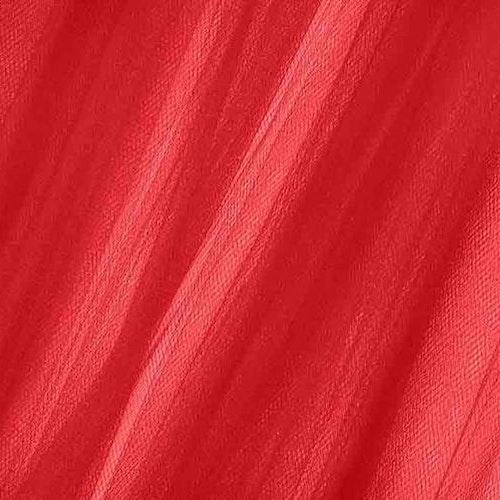 Tyll Röd 300 cm bred
