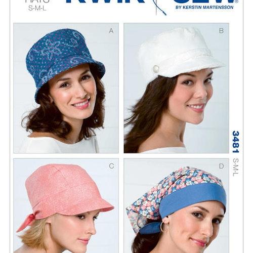 Kwik Sew k3481 Accessoarer Hatt