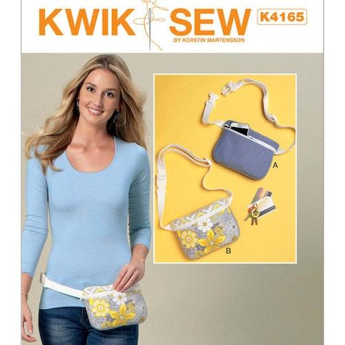 Kwik Sew k4165 Pyssel &Presenter Magväska
