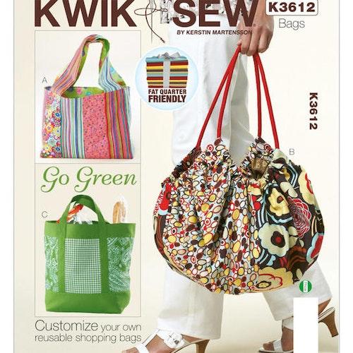 Kwik Sew k3612 Pyssel &Presenter Väska