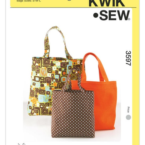 Kwik Sew k3597 Pyssel &Presenter Väska