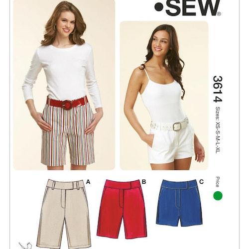 KWIK SEW K3614 Shorts dam
