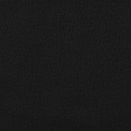 Fleece Polyester Svart