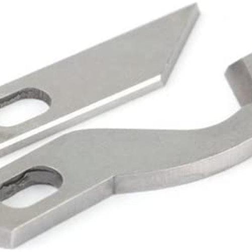 Knivset till ALFA Overlock 8707 & 8708 Overlocksknivar, passar även Singer 14-78