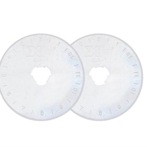 Skärblad passar till Xsor & ALFA & TEXI Rullkniv 45 mm 2-PACK