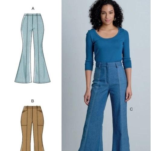 McCalls Jeans 8007 Dam  Välj storlek E514-22