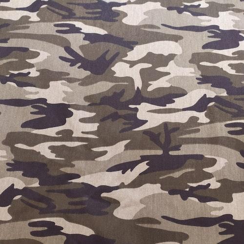 Camouflage militärgrön TWILL !