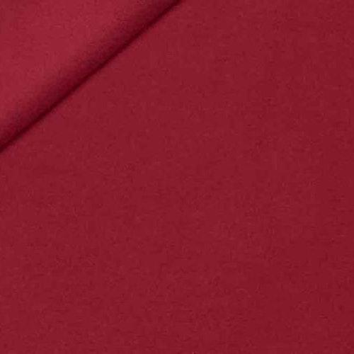 Fleece Polyester Mörkröd