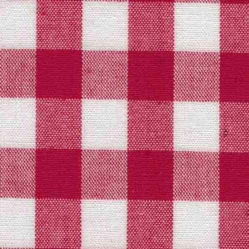 Allväv, RUTA tuskaft - Röd 1x1 cm fg 36