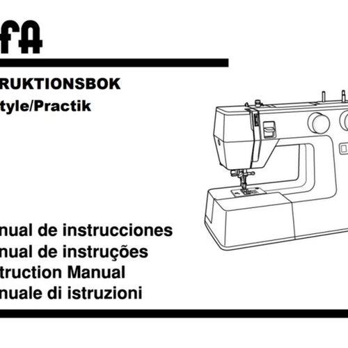 Alfa Style 30-40, Practik 5-7 Next 30-40 - Svensk manual, PDF