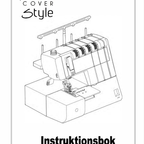 Alfa Hogar Style Coverstitch - Svensk manual, PDF