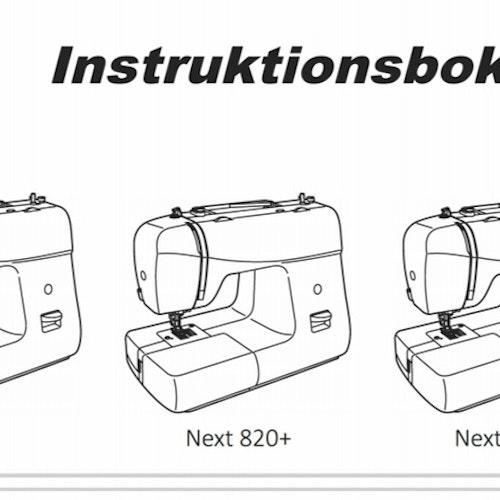 Alfa Hogar Next 820 - Svensk manual, PDF