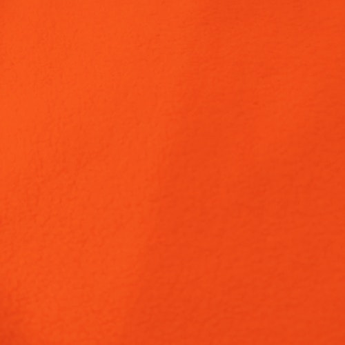 Fleece Polyester Intensiv Orange