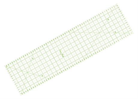 Sew Mate Quiltning linjal 16 x 60 cm