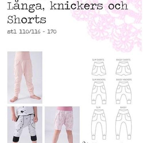 Hallonsmula Baggypants/slim - shorts, knickers och långbyxor stl 110/116-170