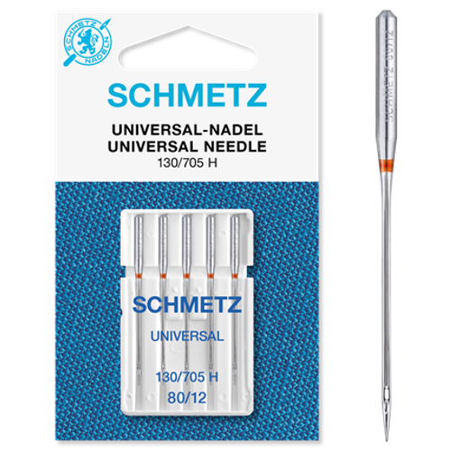 Schmetz Universal nålar 80/12 - 5-pack