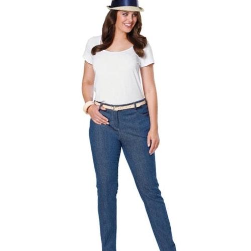 Burda Dam Jeans byxa stl 42-54 6951