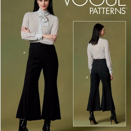 Vogue patterns Dam Byxa OBS Storlek A5=6-14 V1640