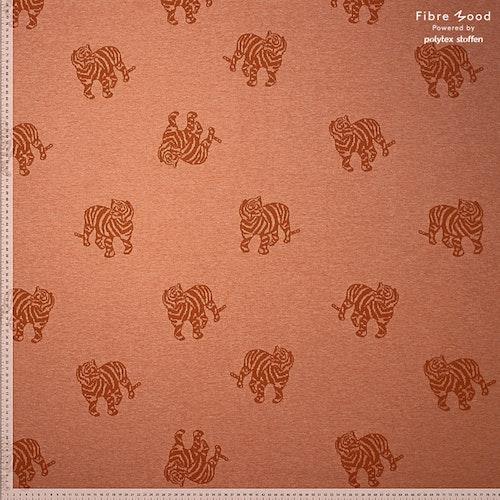 Fibre mood 13 - Jaquard Terrakotta Minnie