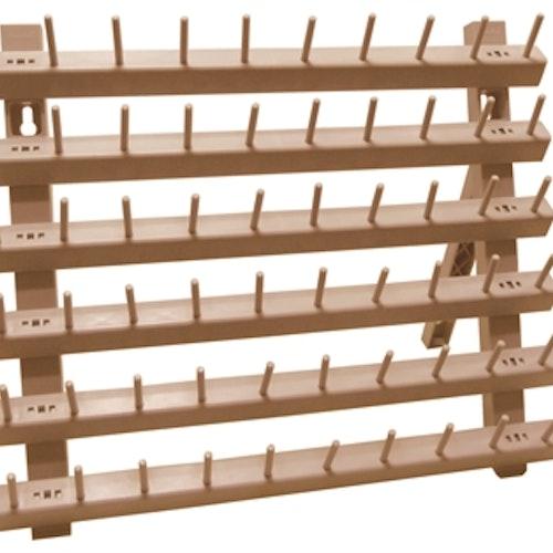 Stående och hängande trådrulleförvaring