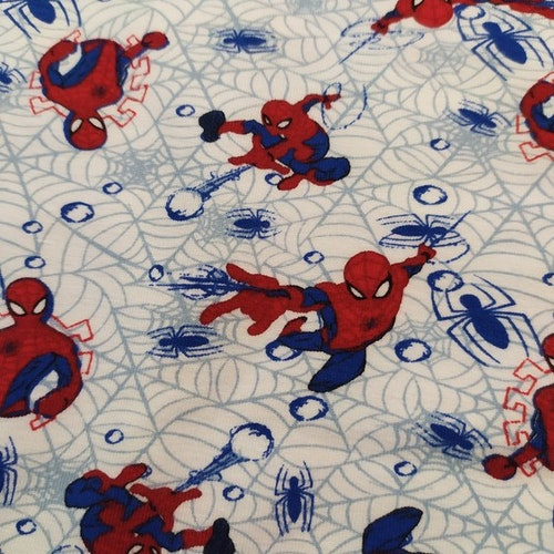 Bomullstrikå - Spiderman trikå