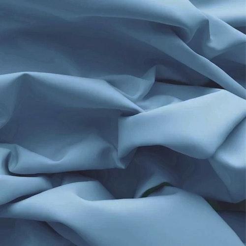 Stretchpoplin - Himmelsblå