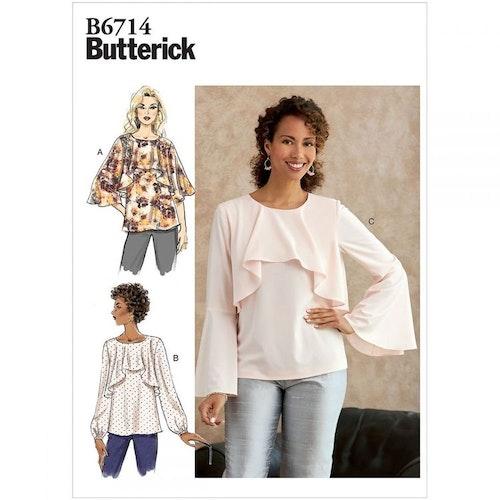 Butterick 6714 Y OBS storlek xs-m