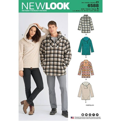 New Look 6588 xs-xL