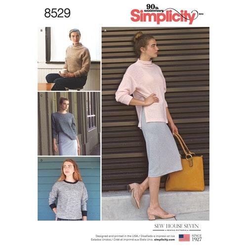 Simplicity 8529 xs-xL