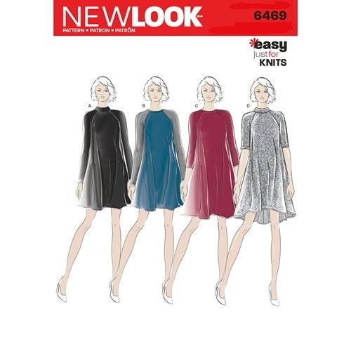 New Look Klänning 6469 stl 34-46