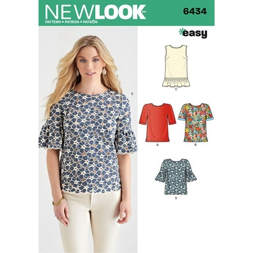 New Look Blus 6434 stl 34-48