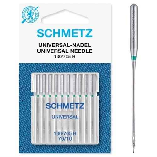 Nål Schmetz UNIVERSAL 70 10-PACK