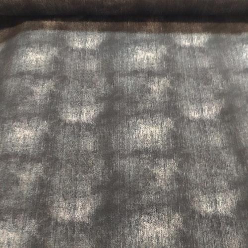 Bomullstrikå - Tryckt jeansstruktur