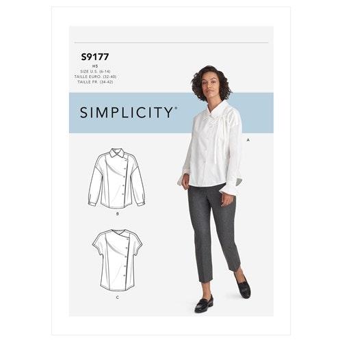 Simplicity 9177 U5 Dam Storlek 42-50 överdel