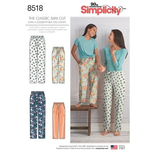 Simplicity 8518 MYSBYXA storlek barn 7-16 år, dam xs-xL (stl 6-24)