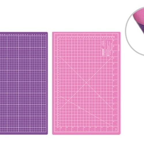 Skärmatta Rosa / Lila 30x45 cm