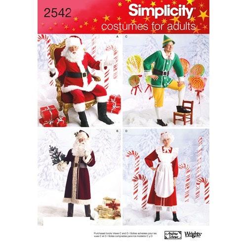 Simplicity 2542 AA Jul  Storlek XS-M