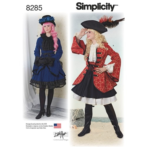 Simplicity 8285 R5 Dam Storlek 40-48