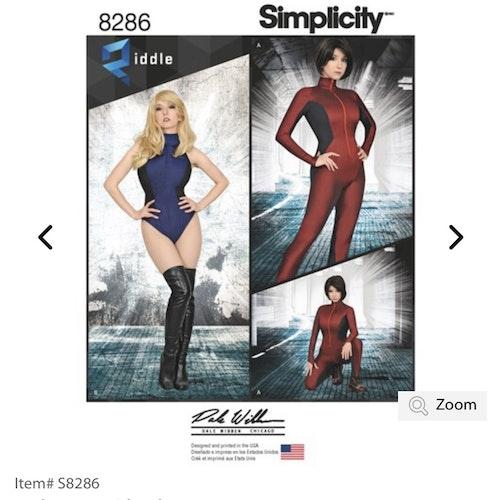 Simplicity 8286 H5 Dam Storlek 32-40