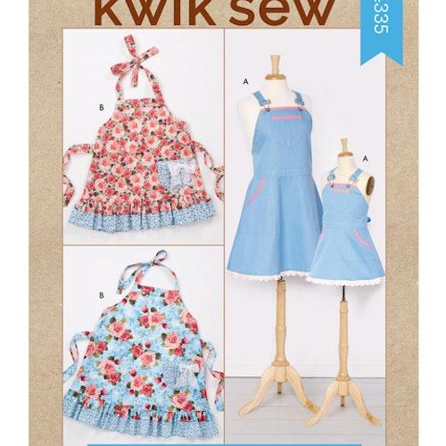 Kwik Sew k4335 Vuxen Barn Förkläde